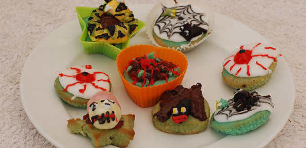 Creepy Critter Cup Cakes