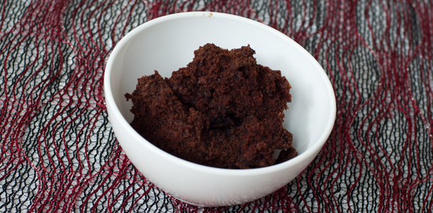 Chocolate Bean Pudding