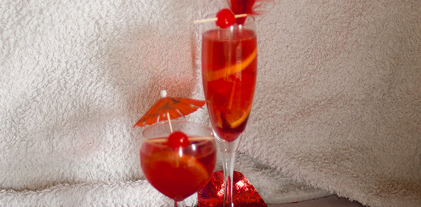 Cranberry & Ginger Ale Cocktail