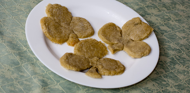 Clover Shaped Biscuits